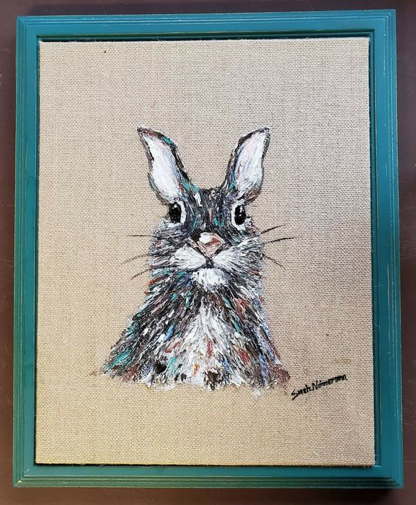 Mr. Bunny - Sarah Ninnemann Art & Photography LLC