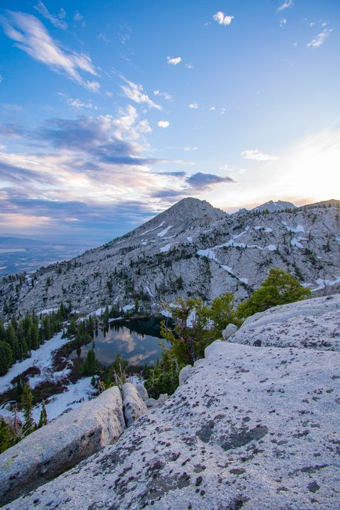 Big Horn Mountain and Lone Peak - James Gifford