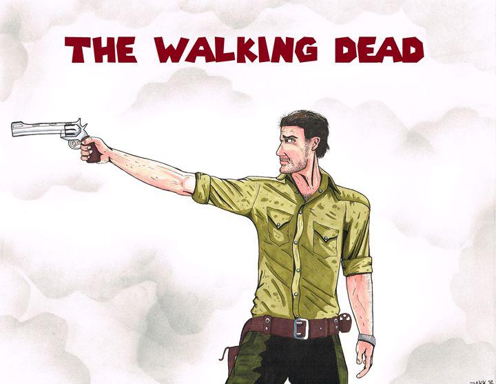 The Walking Dead - Jakk Cutlip ART