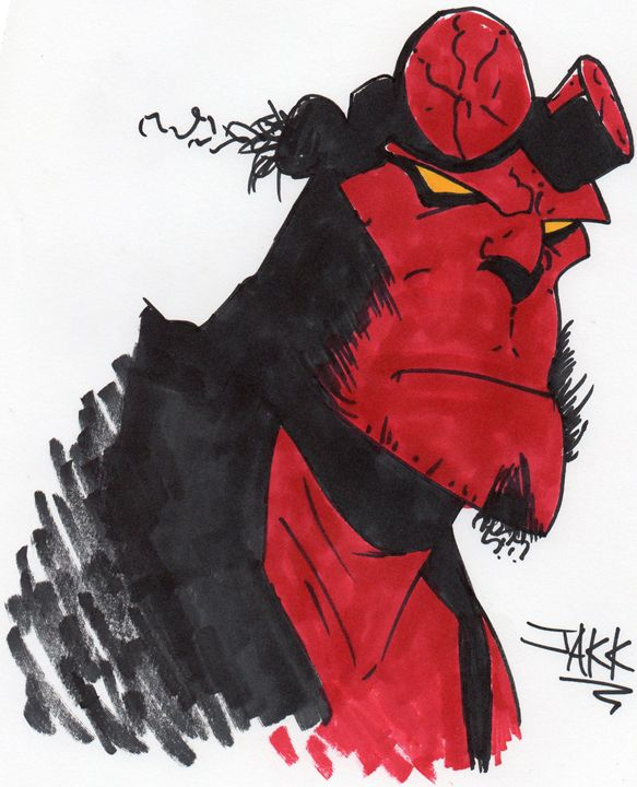 Hellboy - Jakk Cutlip ART