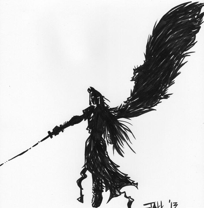 Sephiroth - Jakk Cutlip ART