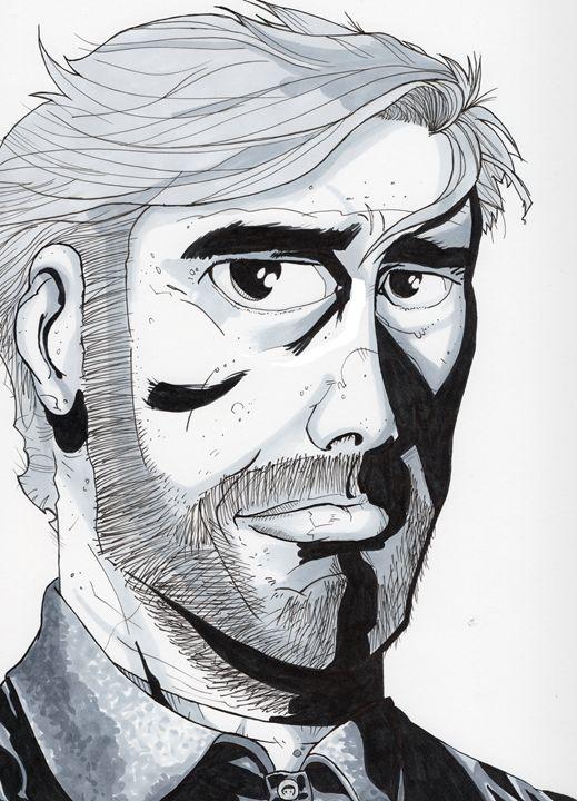 Rick Grimes - Jakk Cutlip ART
