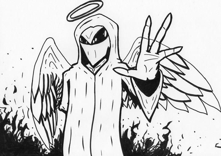 Alien Angel - Jakk Cutlip ART