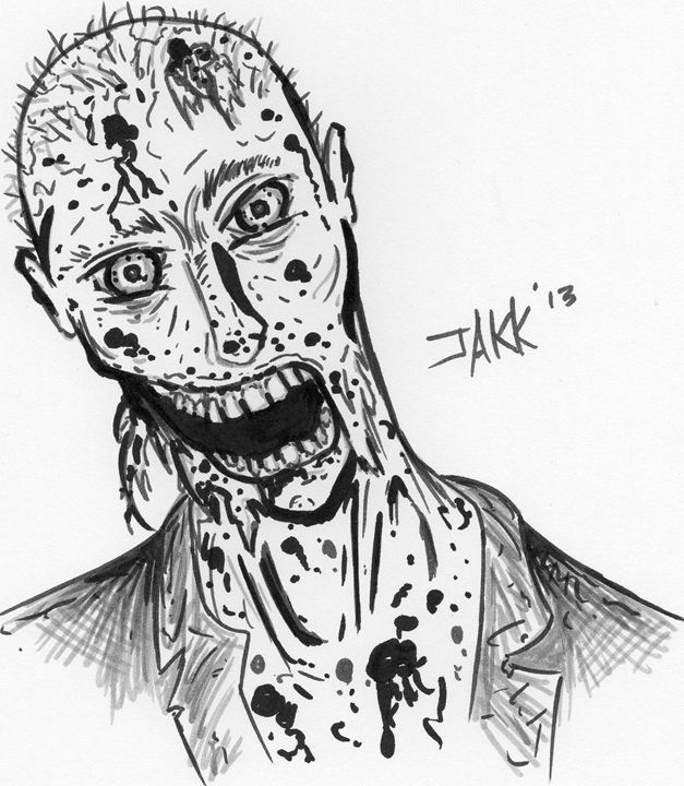 Undead - Jakk Cutlip ART
