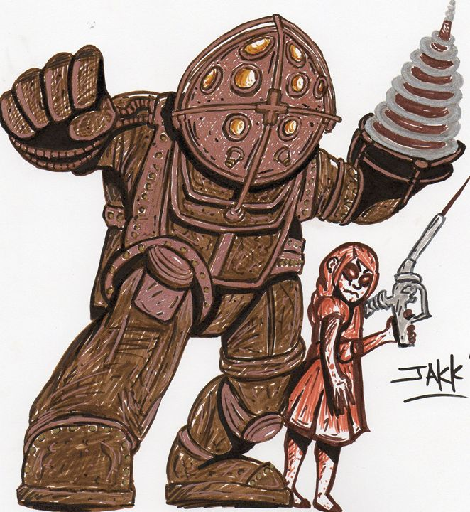 Bioshock Tribute - Jakk Cutlip ART