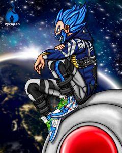 Blue Vegeta Space Edition - Pyropen