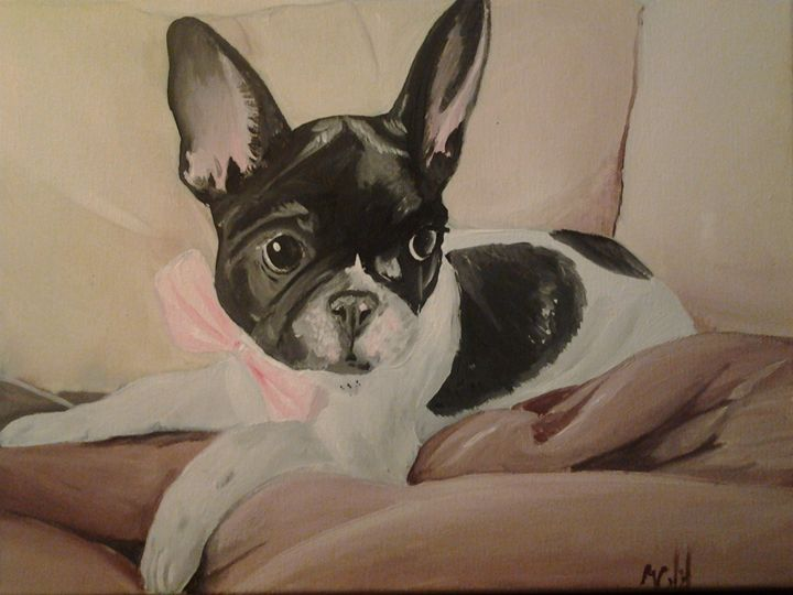 Frenchie in a Tie - Mehgan Crawford gallery