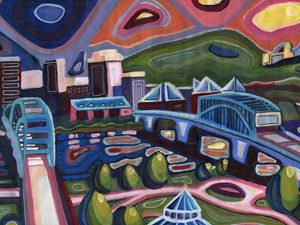 Chattanooga Vibez - Austin McDougal Art