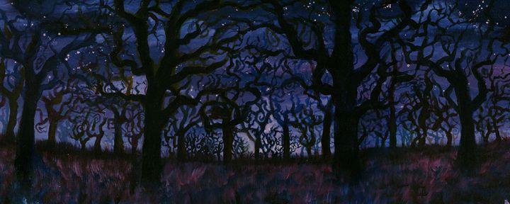 Wonder Woods - Austin McDougal Art