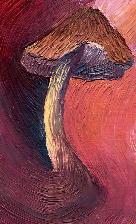 Mushroom Study - Austin McDougal Art
