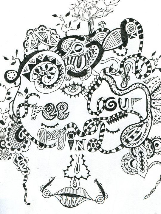 Free Your Mind - Austin McDougal Art