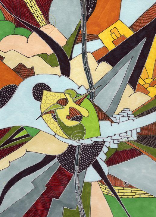 Key Lime Pie - Inksanity by Helen Bird art