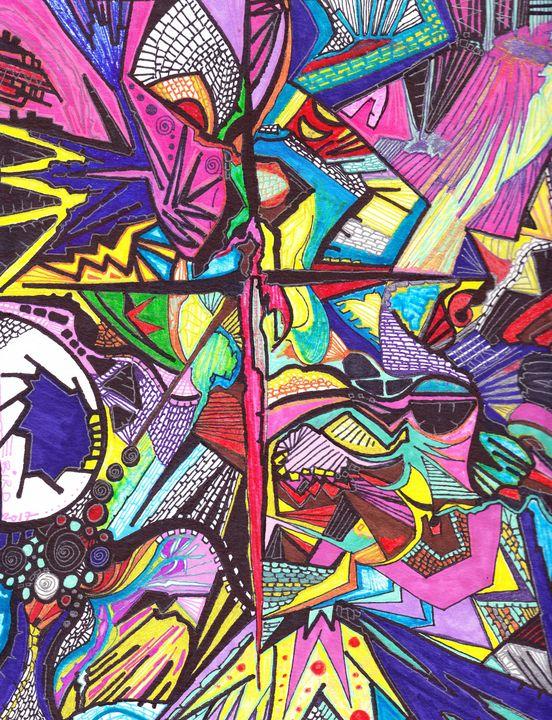 Black Swan Event - Inksanity by Helen Bird art