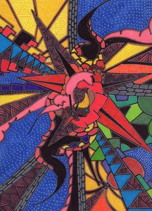 I had an inkling - Inksanity by Helen Bird art