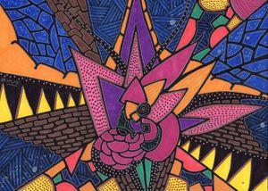Wallflower - Inksanity by Helen Bird art