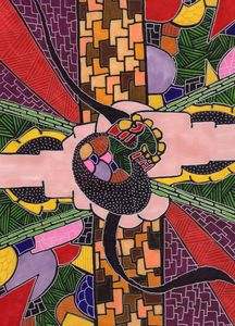 At the Vineyard - Inksanity by Helen Bird art