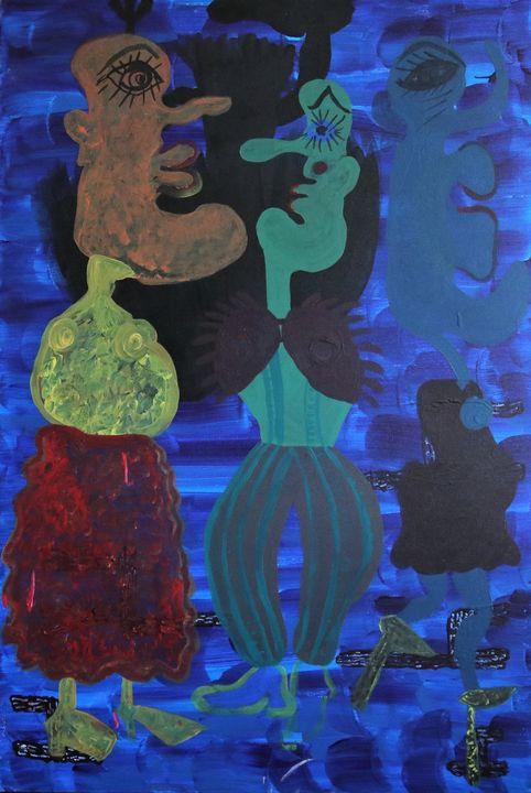 Two Dancers - Hazavei Arts
