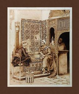 Pyrogravure Mistic Ottoman Period