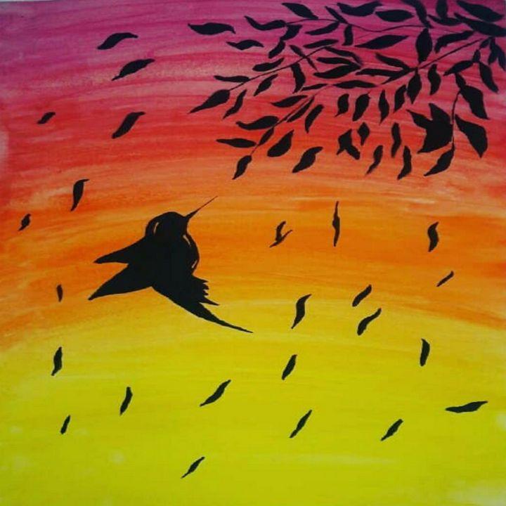 Bird Poster_Painting - Abo_Arts
