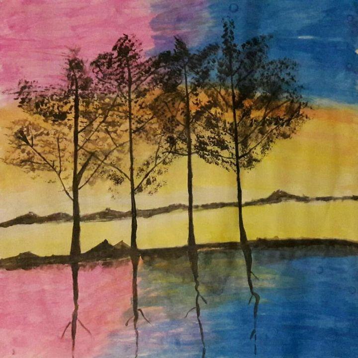 Tree_sunset - Abo_Arts