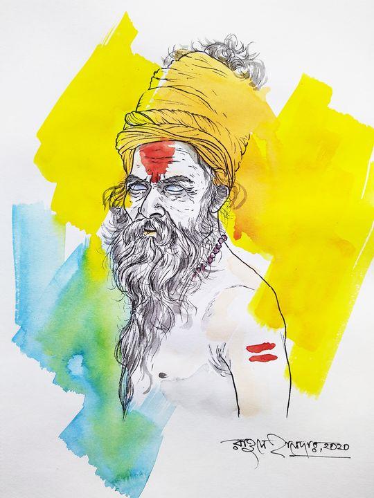 sadhu of Varanasi,India - gallery of hope