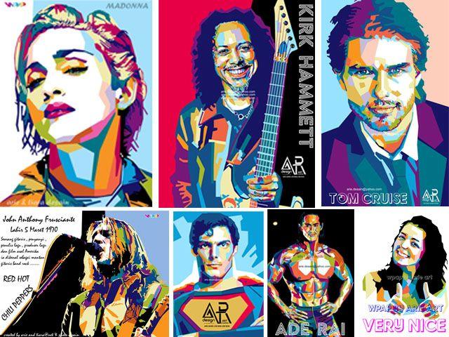 wpap art - digital art