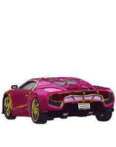 The Joker's car