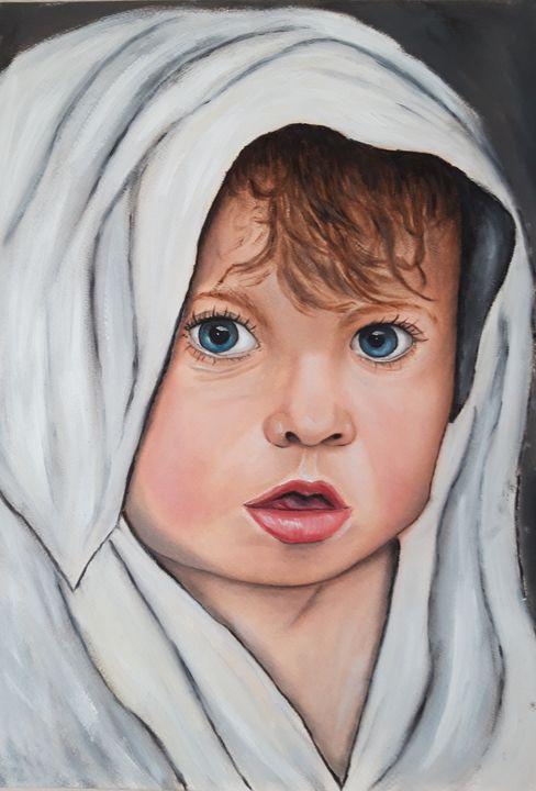 Painting children - Valentine Kostadinova
