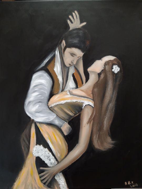Oil Painting Dance - Valentine Kostadinova