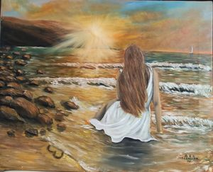 oil painting Love
