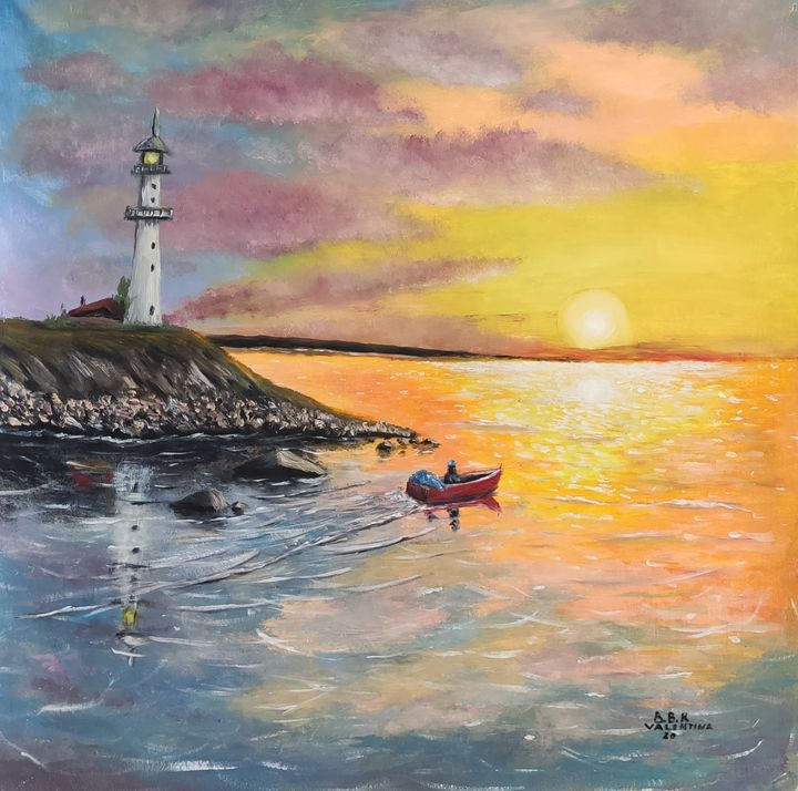 Sea idyll - Valentine Kostadinova