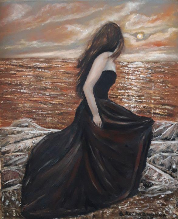 Painting seascape - Valentine Kostadinova