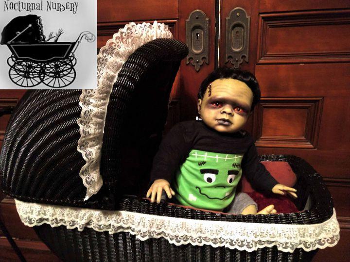 Artist Created Frankenstein - Nocturnal Nursery