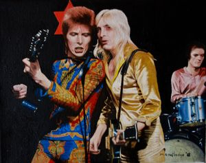Ronson, Woodmansey and Bowie