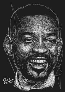 Will Smith Scribble Style
