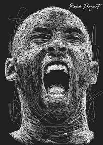 Kobe Bryant Scribble Style