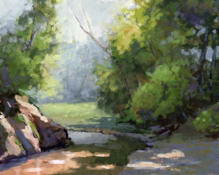 River bend - RobertPodolskiArt