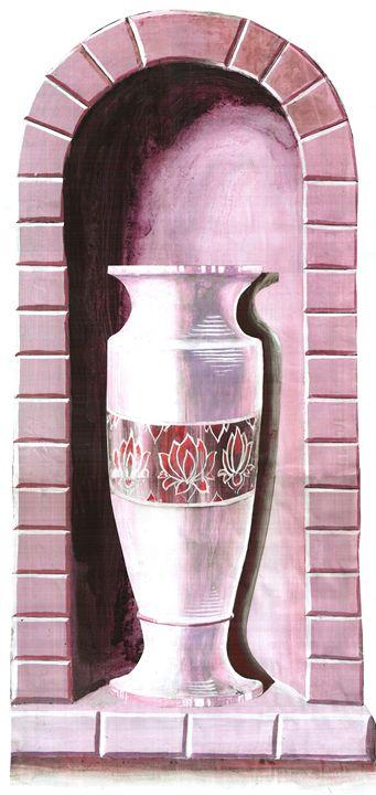 Purple Alcove Vase - Ken de Klerk