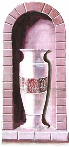 Purple Alcove Vase