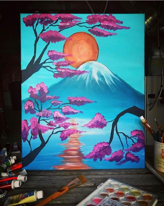 Mount Fuji - ♛ Crown Arȶ ♛