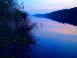 Sunrise at Swinsty Reservoir