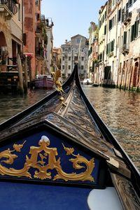 Canal trip in Venice 2019