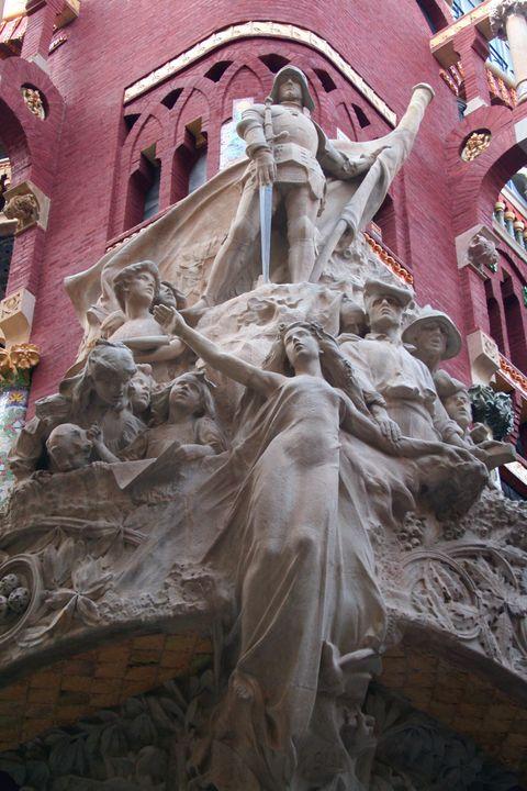 The Palace of Music, Barcelona - Tony Walling Creative Arts