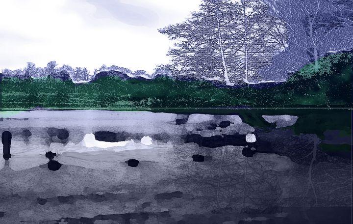 The Lake at Fountains Abbey - Tony Walling Creative Arts