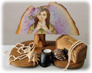 "Candle holder ""Sweetheart"", handmade"
