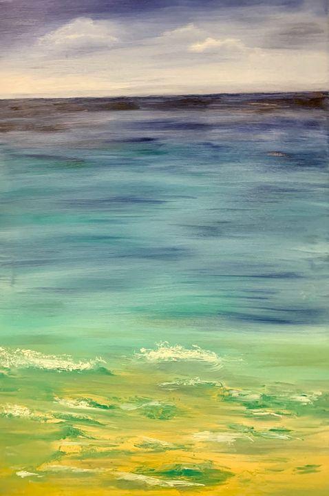 Calming waves - serene