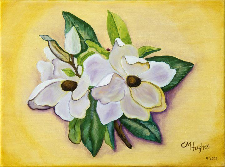 Sweet Magnolias - Christie Nicklay Art