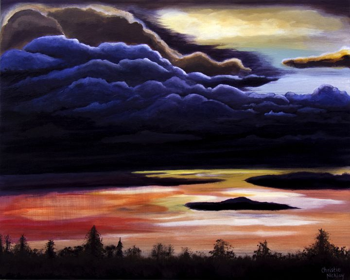 Thunderhead - Christie Nicklay Art