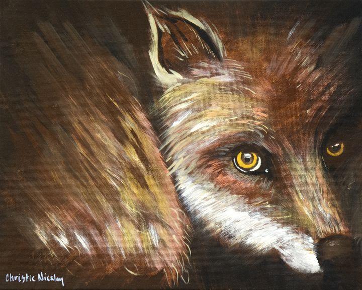 Sly Fox - Christie Nicklay Art