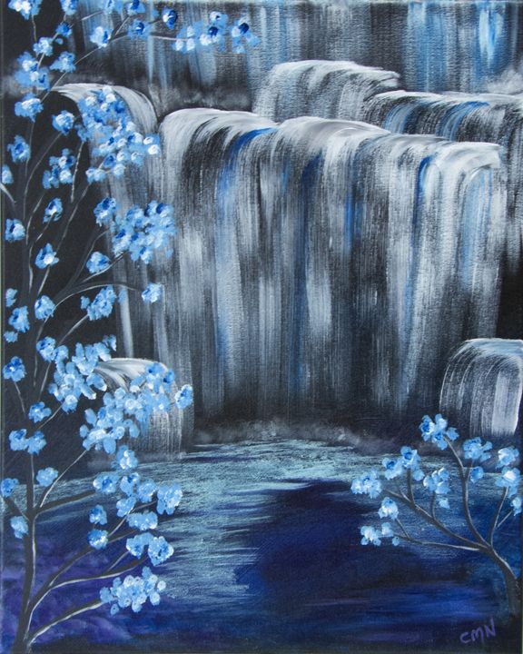 Crystal Falls - Christie Nicklay Art